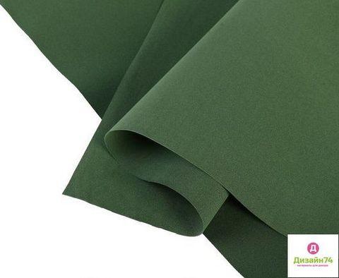 Фоамиран 1 мм Иран  морской зеленый №182