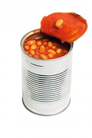 Фасоль красная в томатном соусе (ЕКО) ж/б 0.4 кг.