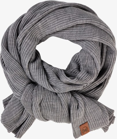 Шарф вязаный Buff Knitted Collar Francis Melange Grey фото 2