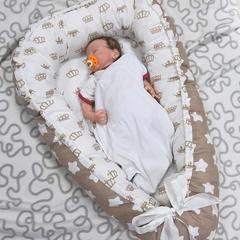 Farla. Кокон-гнездо для младенца Nest Королевский вид 1