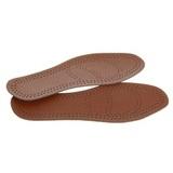 Стельки для обуви кожаные, с латексом