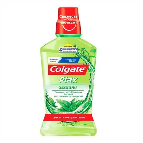 Ополаскиватель д/полости рта COLGATE Plax Свежесть чая 500 мл