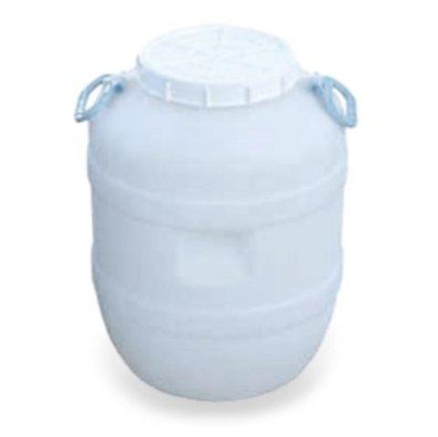 Бидон АГР пластиковый круглый для пищевых продуктов н/окрашен