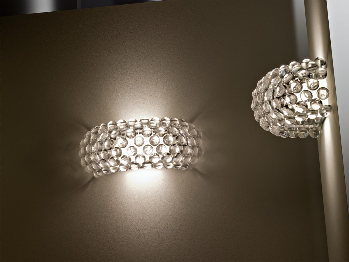 Настенный светильник копия CABOCHE piccola by Foscarini (янтарный)