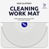Мат Для Чистки Виниловых Пластинок, CD, DVD, Blu-ray (Analog Renaissance Cleaning Work Mat)