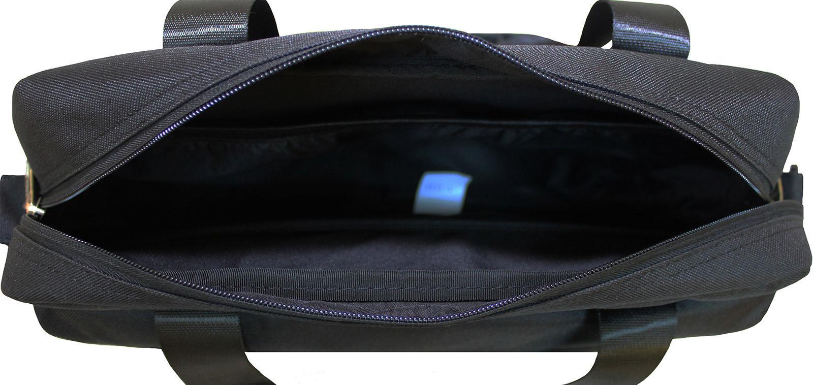 Сумка под ноутбук Bagland Salivan 8 л. Черный (0040366)
