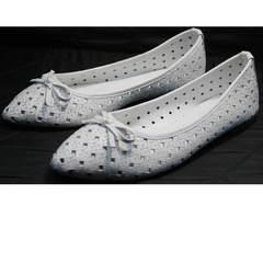 Білі балетки Vasari Gloria 19Y38860-37 White.