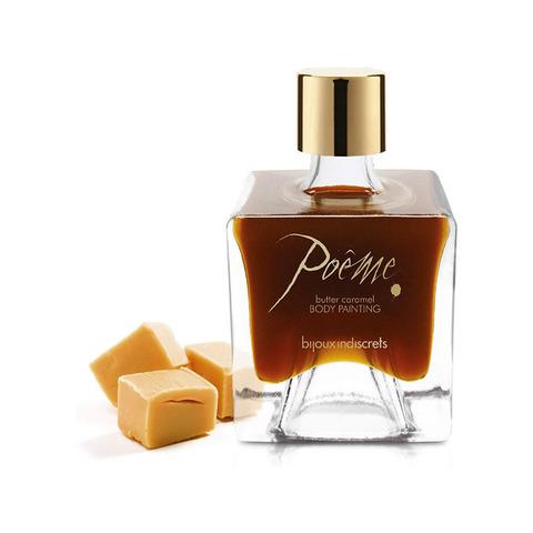 Bijoux Indiscrets Poеme Butter Caramel Краска для тела Молочная Карамель, 50г