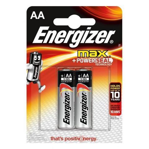 Батарейка Энерджайзер Макс E91/AA (2шт)