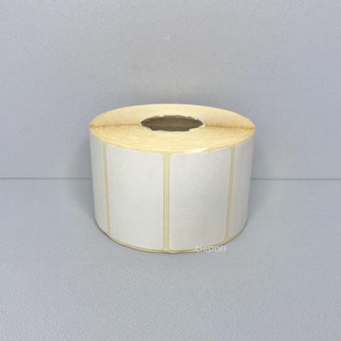 Термоэтикетка самоклеящаяся 40х25 мм