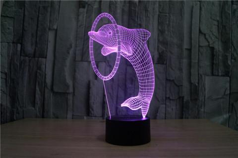 Art-Lamps Дельфин и кольцо