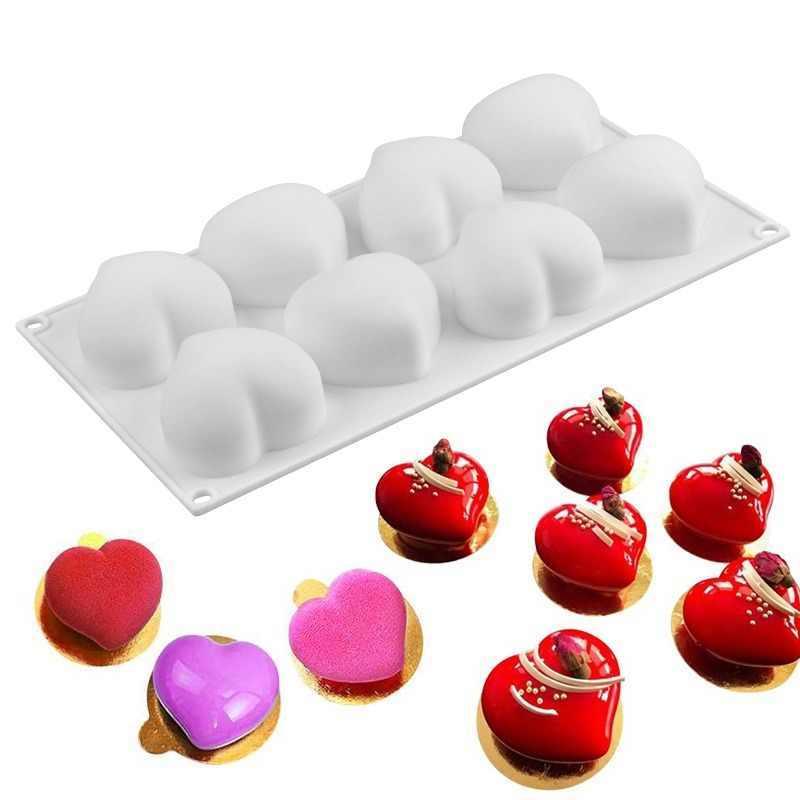 Форма для муссовых пироженых «Сердце»