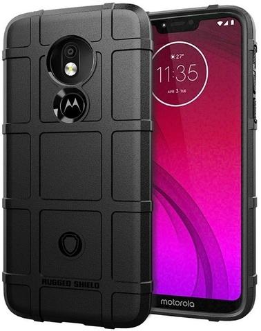 Чехол Motorola Moto G7 Power цвет Black (черный), серия Armor, Caseport