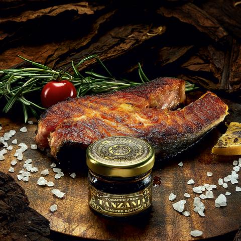Табак WTO Tanzania Salmon Grill (ВТО Танзания Лосось на Гриле) 20 г