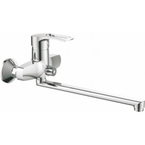 Viko 6405 смеситель для ванны ф40 (встроенный переключатель) L-30см