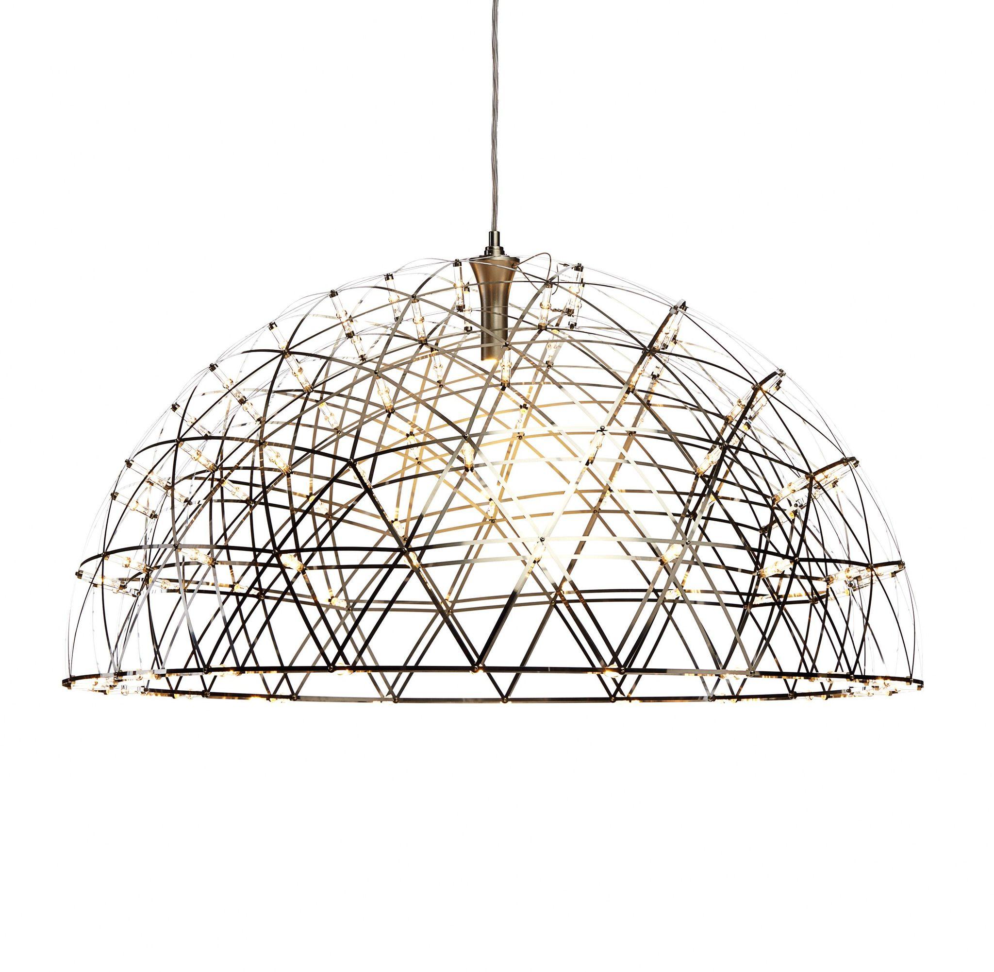 Подвесной светильник копия Raimond Dome by Moooi (золотой, D 79 cm)