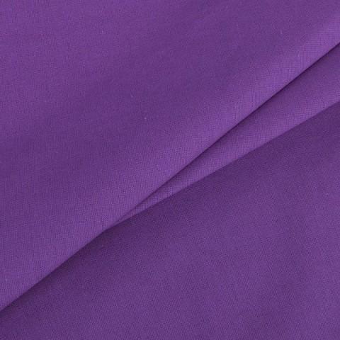 Поплин гладкокрашеный 220 см 115 гр/м2 цвет черника