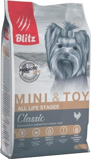 Blitz Корм для собак мелких и миниатюрных пород, Blitz Adult Mini & Toy Breeds взр_мин_и_мелк_2.jpg