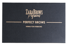 Хна для бровей Perfect Brows (box) от Zara Brows