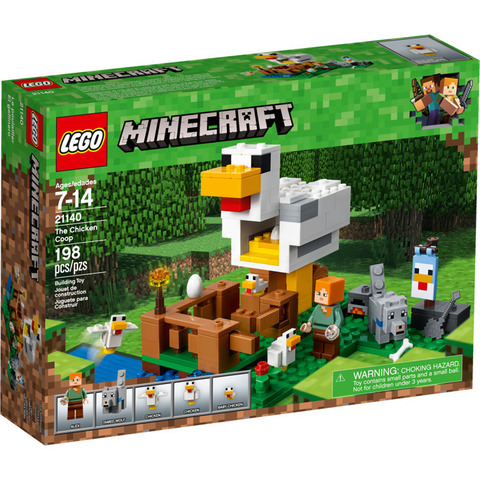 LEGO Minecraft: Курятник 21140 — The Chicken Coop — Лего Майнкрафт