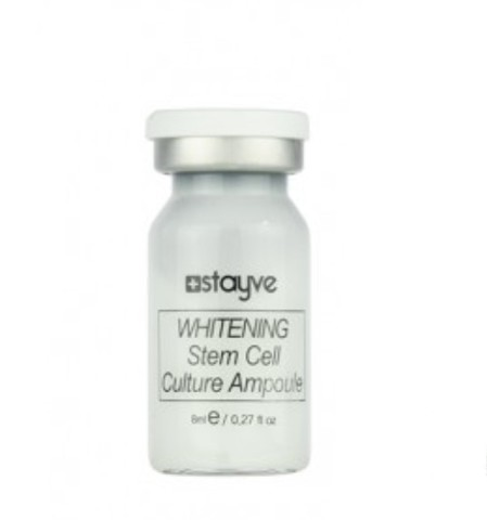 Stayve Whitening Steam Cell Culture Отбеливающая сыворотка с лифтинг-эффектом (1 ампула 8 мл)