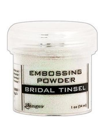 Пудра для эмбоссинга Ranger Ink- BRIDAL TINSEL