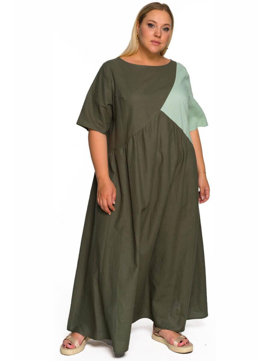 Платье изо льна Ярослава