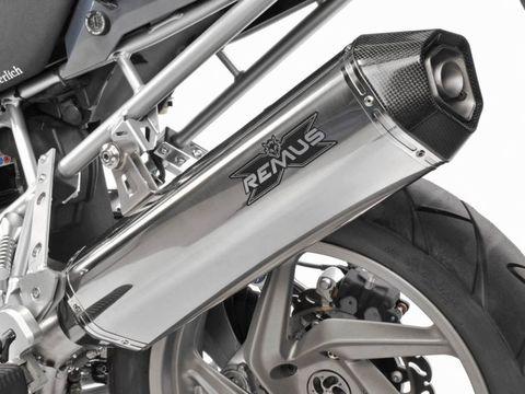 Глушитель Remus HexaCone BMW R1200R (-10) нерж.сталь