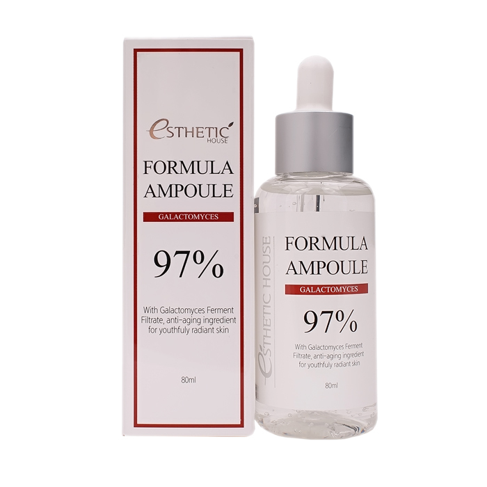 Сыворотка для лица с галактомисисом Esthetic House Formula Ampoule Galactomyces 80мл