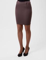 5545-2 юбка капучино