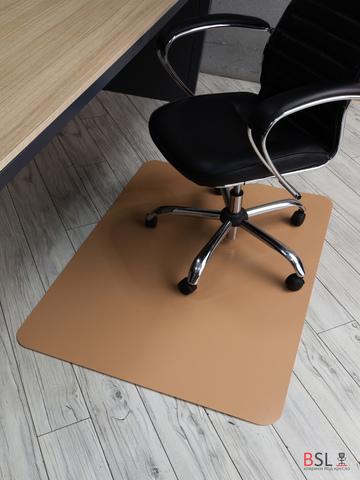 Защитный коврик под кресло 900x1200 мм бежевый
