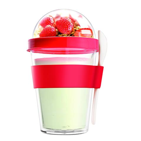 Контейнер Asobu Yo2go improved (0,36 литра), красный