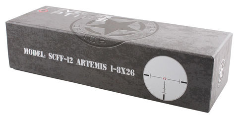 VECTOR OPTICS ARTEMIS 1-8X26 FFP