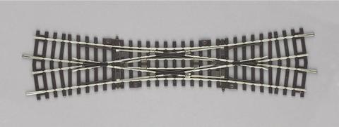 DKW: Английская стрелка - 15°, A-Gleis