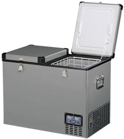 Компрессорный автохолодильник Indel-B TB92DD Steel (Двухкамерный, 12V/24V/220V, 92л)