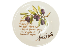 "OLIVES Dinner plate ( mod. C/1167 ) | Тарелка обеденная ""ОЛИВКИ"""