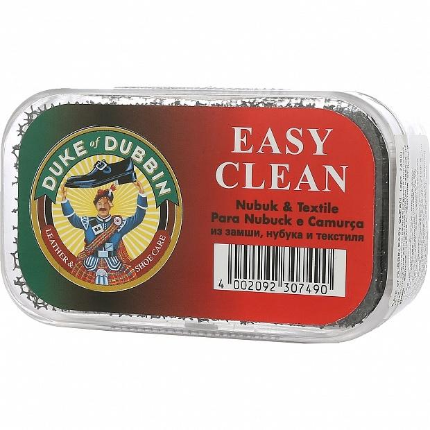 DUKE of DUBBIN Easy Clean губка для чистки обуви из замши, велюра, текстиля