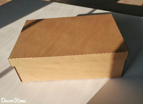 Иконостас упаковываем в коробку с каркасом