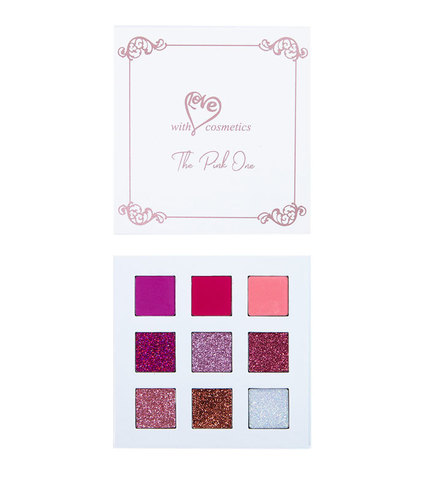 With Love Cosmetics The Pink One Palette