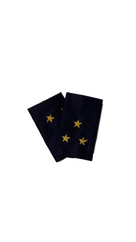 Фальшпогоны синие вышитые ст. лейтенант (ГИБДД)
