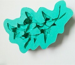0532 Молд силиконовый Розы ветка