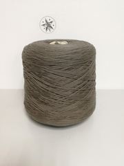 Fettuccia, Хлопок 100%, темно-бежево-серый, шнурок, 180 м в 100 г
