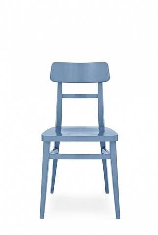 Стул MILANO CB/1284, BCH P100 MATT SKY BLUE (обеденный, кухонный, для гостиной), Материал каркаса: Массив дерева, Материал сиденья: Фанера/Шпон, Цвет сиденья: Голубой, Цвет: Синий, Материал каркаса: Дерево, Материал сиденья: Дерево