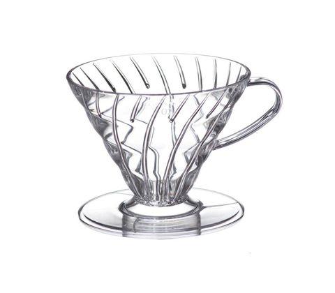Пуровер Hario V60-02 прозрачный, пластик