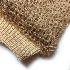 Gloys мочалка-рукавица массажная из натурального волокна (джут)