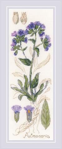 Набор для вышивания крестом «Пульмонария» (1797)