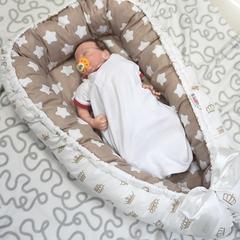 Farla. Кокон-гнездо для младенца Nest Королевский вид 2