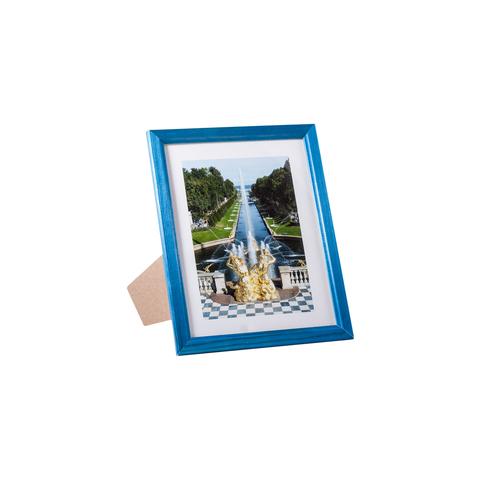 Фоторамка сосна  цветная 15х20 7N68 синяя