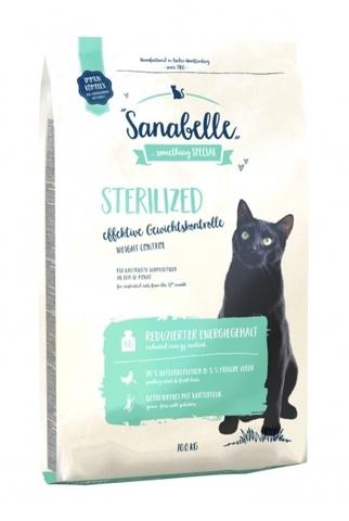 Bosch Sanabelle Sterilized сухой беззерновой корм для стерилизованных кошек и кастрированных котов 10 кг