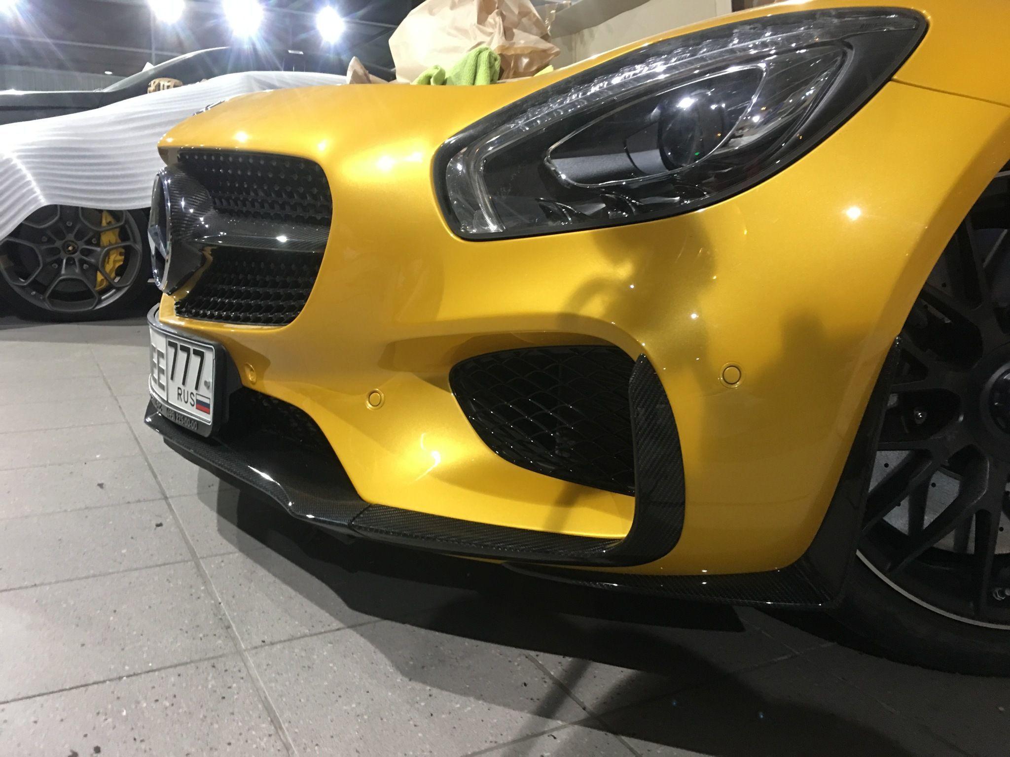 Карбоновая решетка радиатора Edition 1 Style для Mercedes GT-class C190